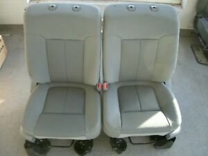 Ford F150 Gray Cloth Manual Front Seats