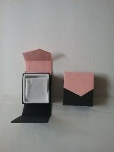 Magnetic Earring Box Pink black 144 Pc Lot Wholesale Liquidation
