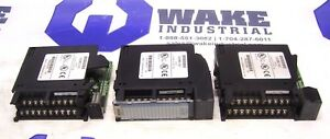 lot Of 3 Ge Fanuc Output Module Ic693mdl742g cracked Covers