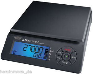 Package Scale Myweigh Ultraship U2 59 5lbs X 0 0705oz Shipping Parcel