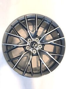 Lexus 19 Oem Genuine Gsf Gs F Rear Bbs Wheel Rim 19x10 Rc F Rcf Fsport X1