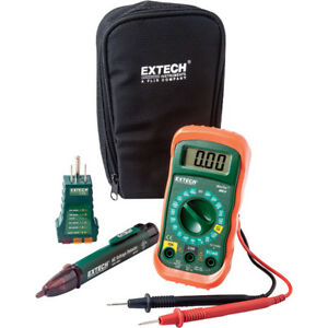 New Nib Extech Instruments 3 piece Electrical Test Kit Mn24 kit