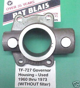 Torqueflite 727 Governor Valve Body Housing 1962 1973 Used Condition Cleaned