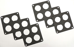 Six Pack Of Holley 4500 Dominator Ported Gaskets Wpm 2035 6
