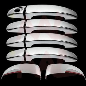 Aal For Ford Focus escape 13 14 15 16 Chrome Mirror W signal Door Handle Cover