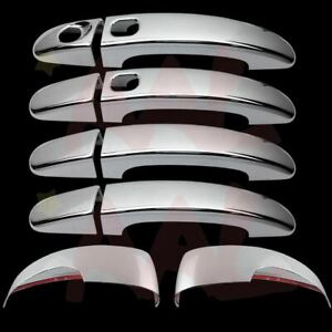 Aal For Ford 13 14 Focus Door Handle W o Pskh W smrtkh 2pc Mirror Chrome Covers