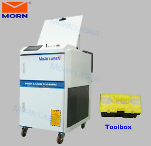 100w Portable Metal Surface Laser Cleaner Deruster Machine