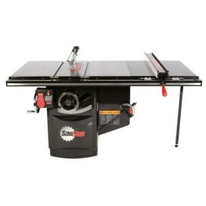 Sawstop Ics53230 36 5hp Industrial Table Saw 36 T glide Fence