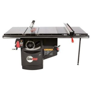 Sawstop Ics53480 36 5hp Industrial Table Saw 36 T glide Fence