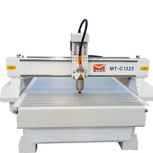 3kw Wood Cnc Router Engraving Drilling Machine Water Cooling Dsp 8ft 4ft 1325