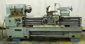Mori Seki Engine Lathe Mh 1500 24 Swing 60 Between Centers 3 Jaw Chuck