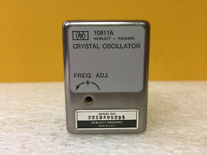 Hp Agilent 10811a 10 Mhz Precision Quartz Crystal Oscillator Tested