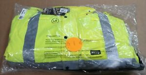 Gravel Gear High visibility 3 in 1 Bomber Jacket Large