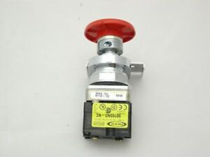 40102 102 Rees Red Push Button Switch With Padlock Attachment