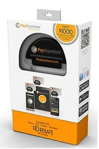 Nib Payanywhere Credit Card Reader For Smartphones Android Ios