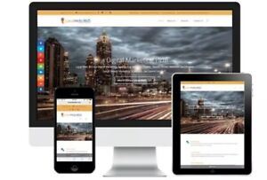 Custom Made Business Website Design 5 Pages Free Web Store Promo Price
