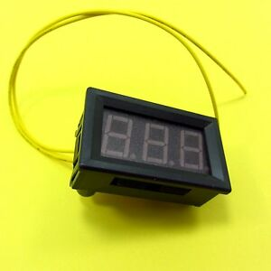 Ac 70 300v Two Wire Led Digital Voltmeter Panel Display Voltage Tester 230v 240v
