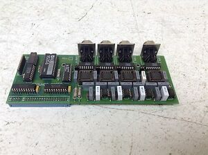 Edmunds Gages 4110919 Rev 0 Circuit Board Pcb Channel
