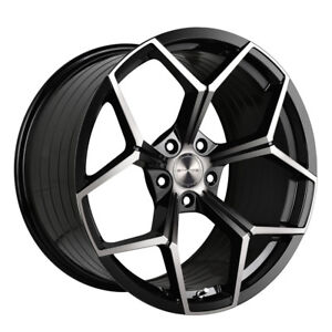 20 Stance Sf06 Forged 20x9 Black Concave Wheels Rims Fits Audi C6 A6