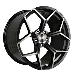 20 Stance Sf06 Forged Black Concave Wheels Rims Fits Ford Mustang Gt