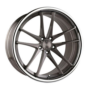 20 Vertini Rf1 5 Forged Titanium Concave Wheels Rims Fits Ford Mustang Gt