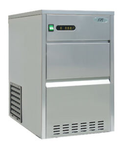 Sunpentown Spt 66 Lbs Automatic Stainless Steel Ice Maker Im 661c