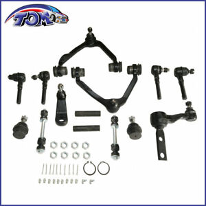 14pcs Control Arms Ball Joints Idler Arm Kit For F150 Expedition 4wd 2 5 Bolt
