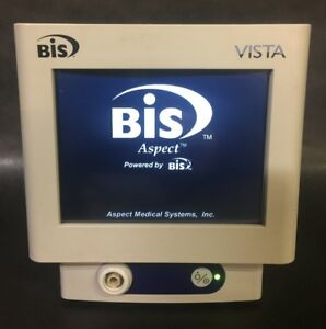 Aspect Medical Bis Vista Bispectral Index Monitor Ref 185 0151