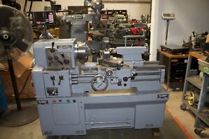 Cadillac Model 1422 Gap Bed Engine Lathe With Collet Closer And Tooling