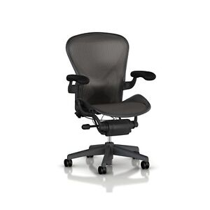 Herman Miller Classic Aeron Task Chair Highly Adj W posturefit Sup 2day Ship
