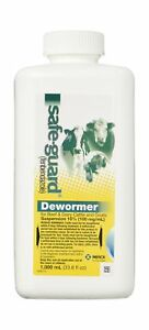 Safe guard Dewormer Suspension For Beef Dairy Cattle And Goats 10 2day Ship
