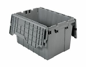 Akro mils 39120 Plastic Storage And Distribution Container Tote Wit 2day Ship