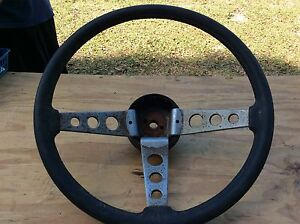 Ford Rally Steering Wheel W Horn Button On Turn Signal Mustang Granada Fairmont