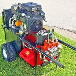 New Heavy Duty Hydraulic Power Unit 22 5hp compaction Grouting Underpinning