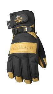 Men s Winter Gloves With Cowhide Palm Very Warm Waterproof Glove 2day Ship