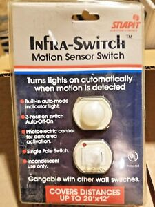 Leviton 51087 Motion Sensor Switch Box Of 6