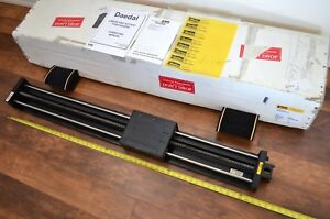 New 50 Parker Daedal 506042et Linear Ballscrew Actuator Nema23 W Bellows Thk