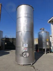 2700 Gallon Stainless Steel Tank