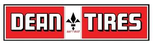Dean Tires Decal Sticker 8 5 X 2 55 Racing Toolbox Laptop Vehicle Window