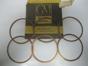 60 Chevrolet Corvair Cylinder Head Gasket Set Nos 6256941