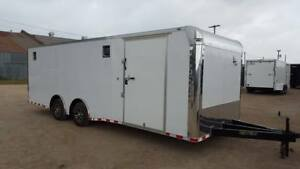 new 8 5x24ta Enclosed Car Hauler Race Trailer 2018 With All The Extras