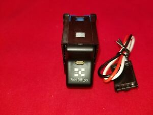 1997 2006 Jeep Wrangler Front Diff Locker Switch Stock Look Snaps In Stock Panel