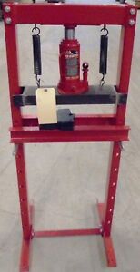 Torin Big Red Jacks T51201 12 Ton Capacity Shop Press Bottle Jack