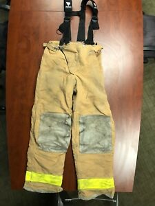 Globe Firefighter Turnout Pants With Veridian Limited Suspenders asst d Sizes