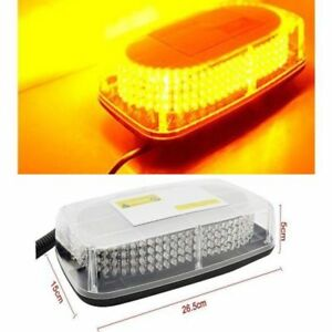 240 Led Yellow Light Bar Roof Top Emergency Beacon Warning Flash Strobe