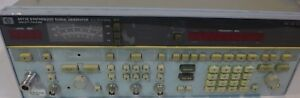 Hp 8673e Synthesized Signal Generator Tested And Working