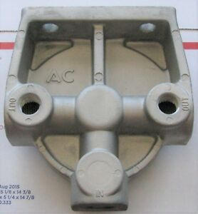 Ac Delco T 96 80 Fuel Filter Kit Tp958 25014341 Aluminum Adapter Remote Mount