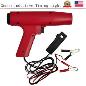 Xenon Professional Inductive Timing Light Engine Fuel Consumption Ignition Contr