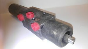 Hydraulic Self Centering Linear Actuator Cylinder For Hydro static Pump Control