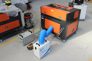 The Pure Air Fume Extractor Smoke Purifier For Laser Cutting Machine Cnc Router